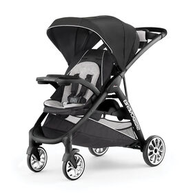 BravoFor2 LE Standing/Sitting Double Stroller in Genesis