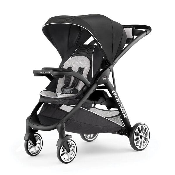 BravoFor2 LE Standing/Sitting Double Stroller - Genesis in Genesis