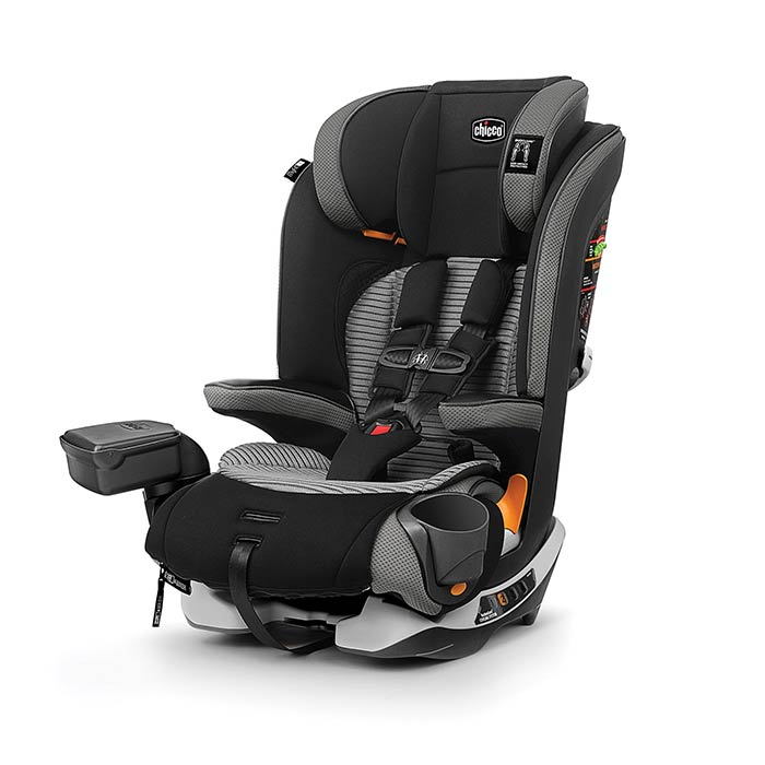 Chicco MyFit Zip Air Booster Car Seat in Q Collection