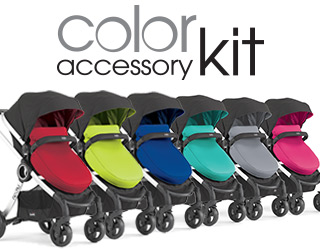 Change the color of your stroller with Chicco Urban stroller accessories: Urban Color Packs