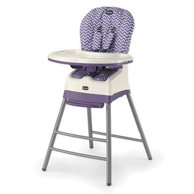 Stack 3-in-1 Multi-Chair in purple chevron Mulberry