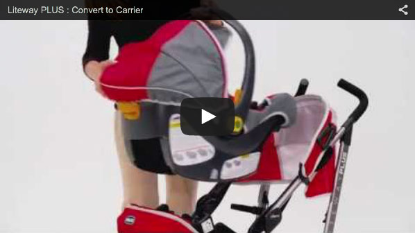 Converting to a Lightweight Car Seat Carrier