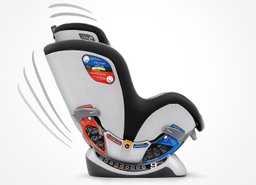 9 Heights Reclines Fits Your Child And Vehicle