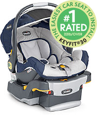 The Easiest Carseat to Install - chicco keyfit jogging stroller