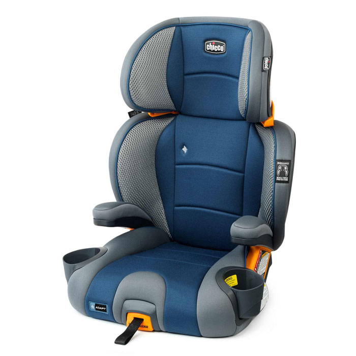 Chicco KidFit Adapt Plus Booster Car Seat in Vapor