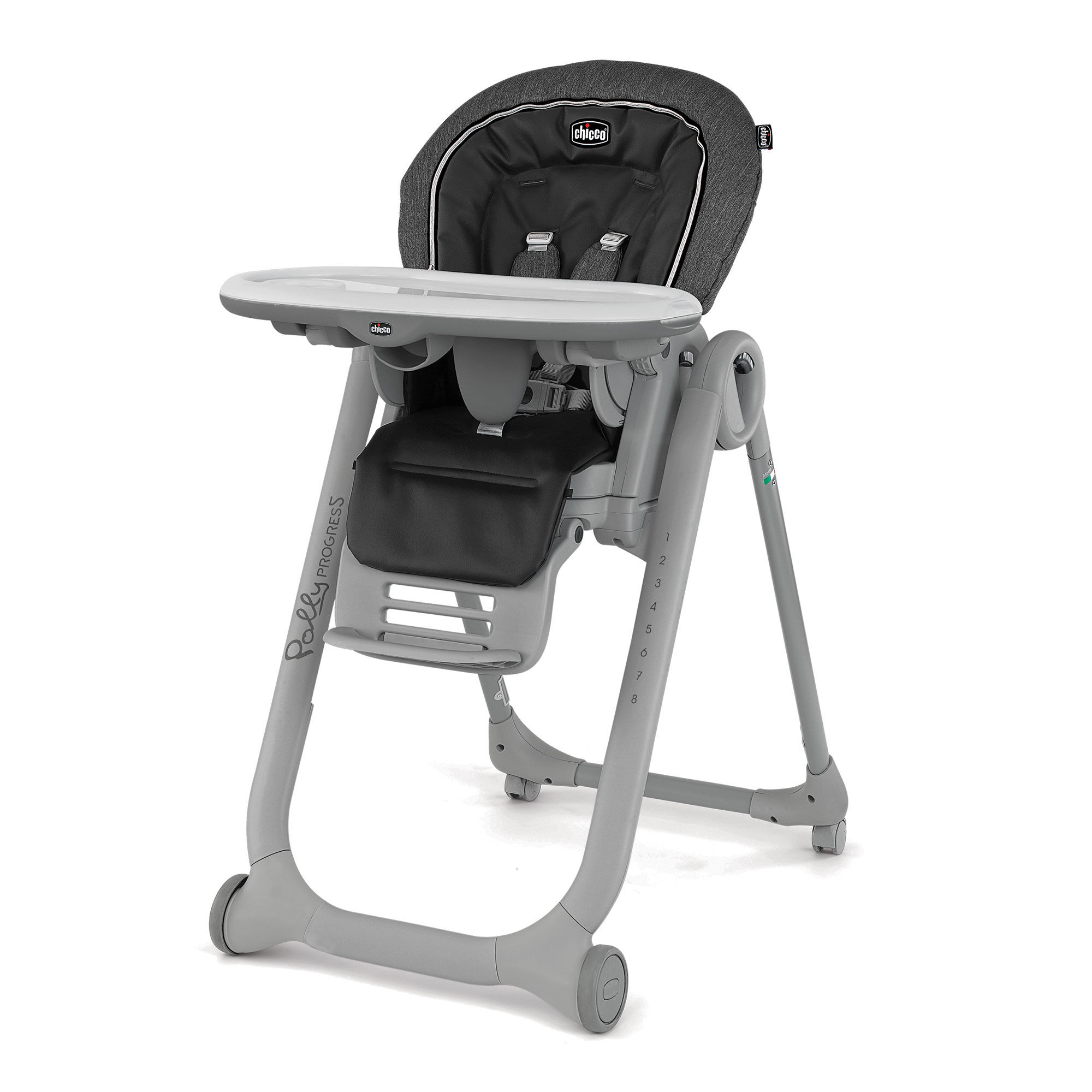 Chicco Polly Progress Highchair in Minerale