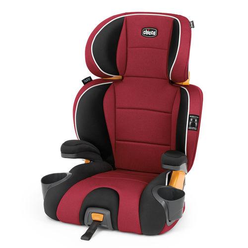 KidFit 2-in-1 Belt-Positioning Booster Car Seat - Paprika