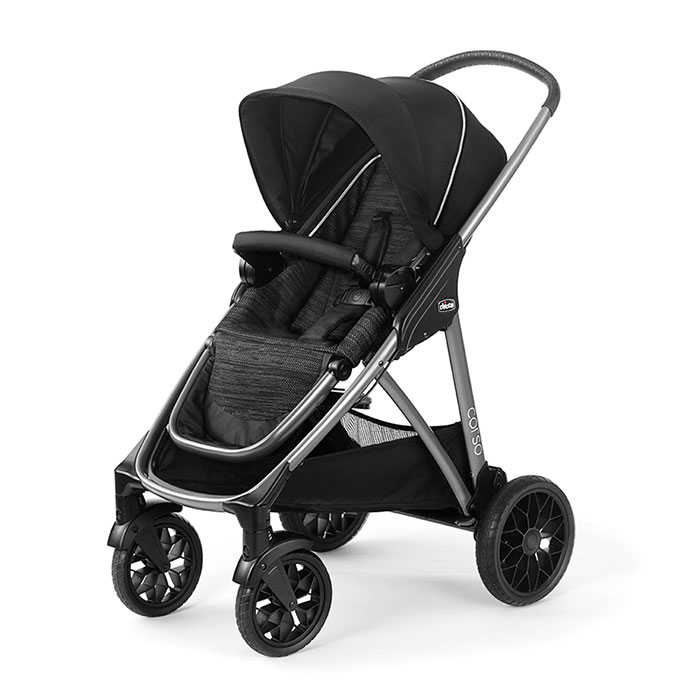 Chicco Corso Full Size Stroller in Staccato