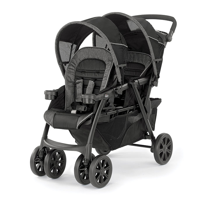 Chicco Cortina Together Double Stroller in Minerale