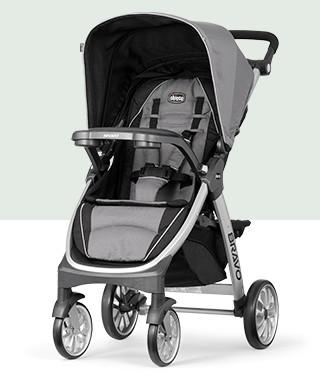 Bravo® Quick-Fold Stroller