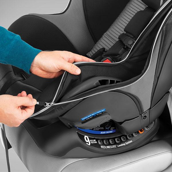 Clean Nextfit Convertible Car Seat
