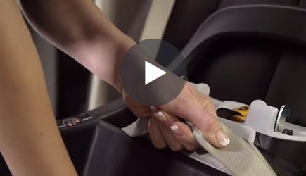 Installing Car Seat Belt video