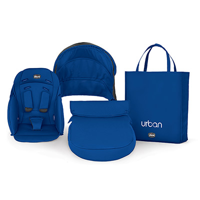 Urban Stroller Blue Color Accessory Kit