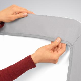 Lullago Bassinet Crib Sheets Grey Chiccousa