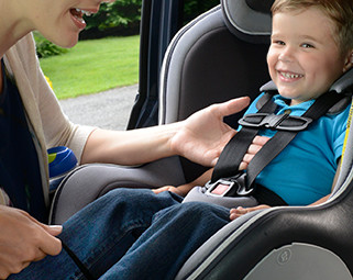 Car Seat Safety Step 1