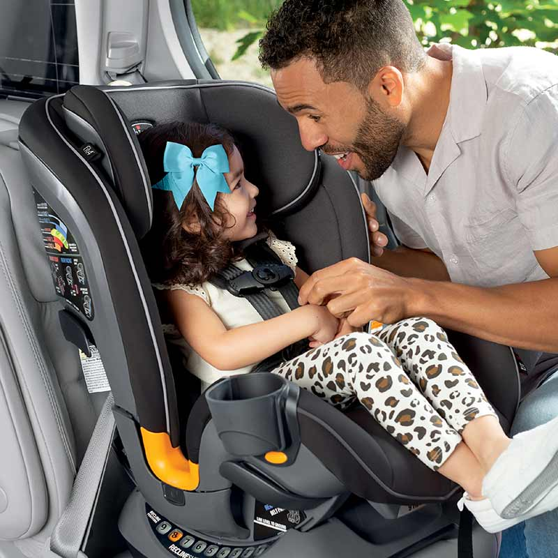 Chicco Fit4 Car Seat installed