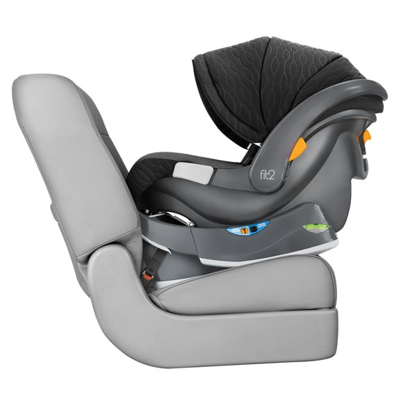 Chicco Fit2 Rear-Facing Infant & Toddler Car Seat & Base - Fluer