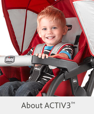 ACTIV3 Chicco Jogger Strollers