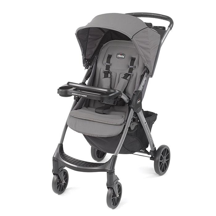 Chicco Mini Bravo Plus Lightweight Stroller in Graphite