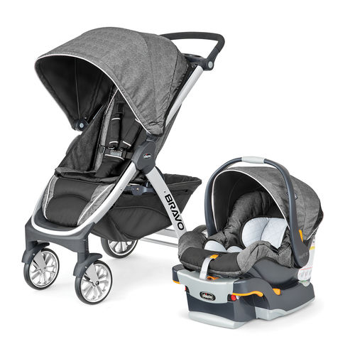 Bravo Trio System Stroller and Infant Car Seat - Avena
