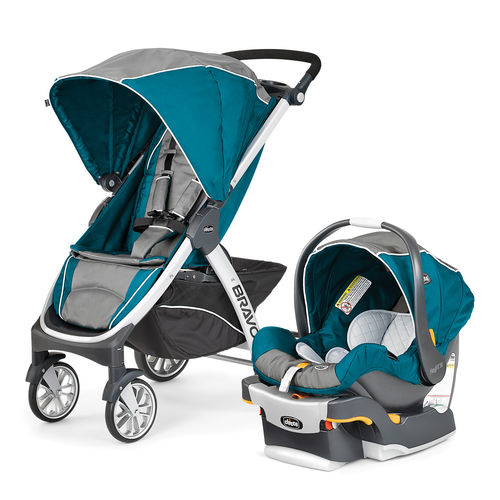 Bravo Trio System Stroller and Infant Car Seat - Polaris