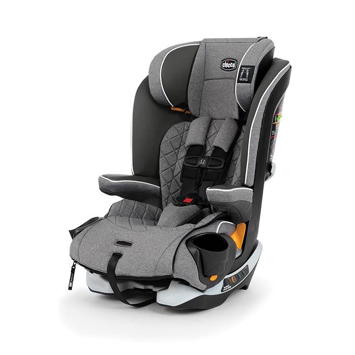 Chicco MyFit Zip Booster Car Seat in Granite