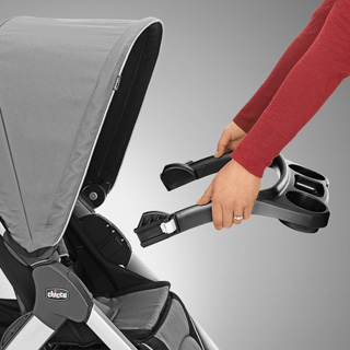 Bravo Stroller Tray Infant Car Seat Adapter Chicco