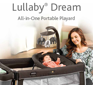 Lullaby Dream All-in-One Portable Play Yard