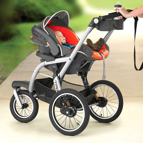 Chicco TRE Stroller Keyfit Carseat Radius