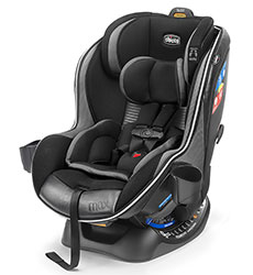 Chicco NextFit Max Zip Air Convertible Car Seat in Q Collection