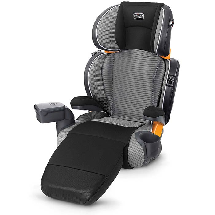 Chicco KidFit Zip Air Plus Booster Car Seat in Q Collection