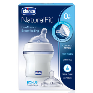NaturalFit® Baby Bottle, 5oz., Slow Flow