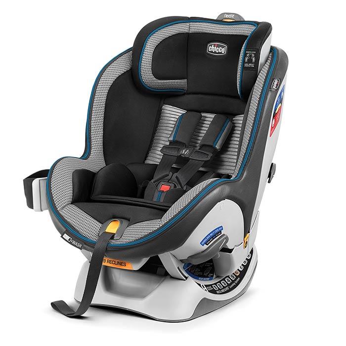 Chicco NextFit Zip Air Car Seat in Azzurro