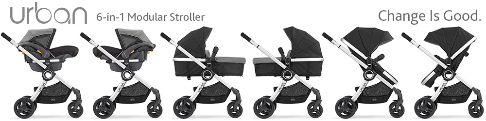 Chicco Urban 6-in-1 Modular Stroller