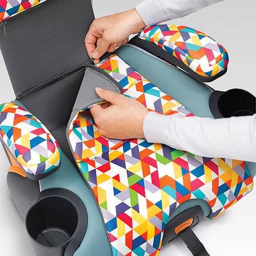 Zip-off Seat Pad