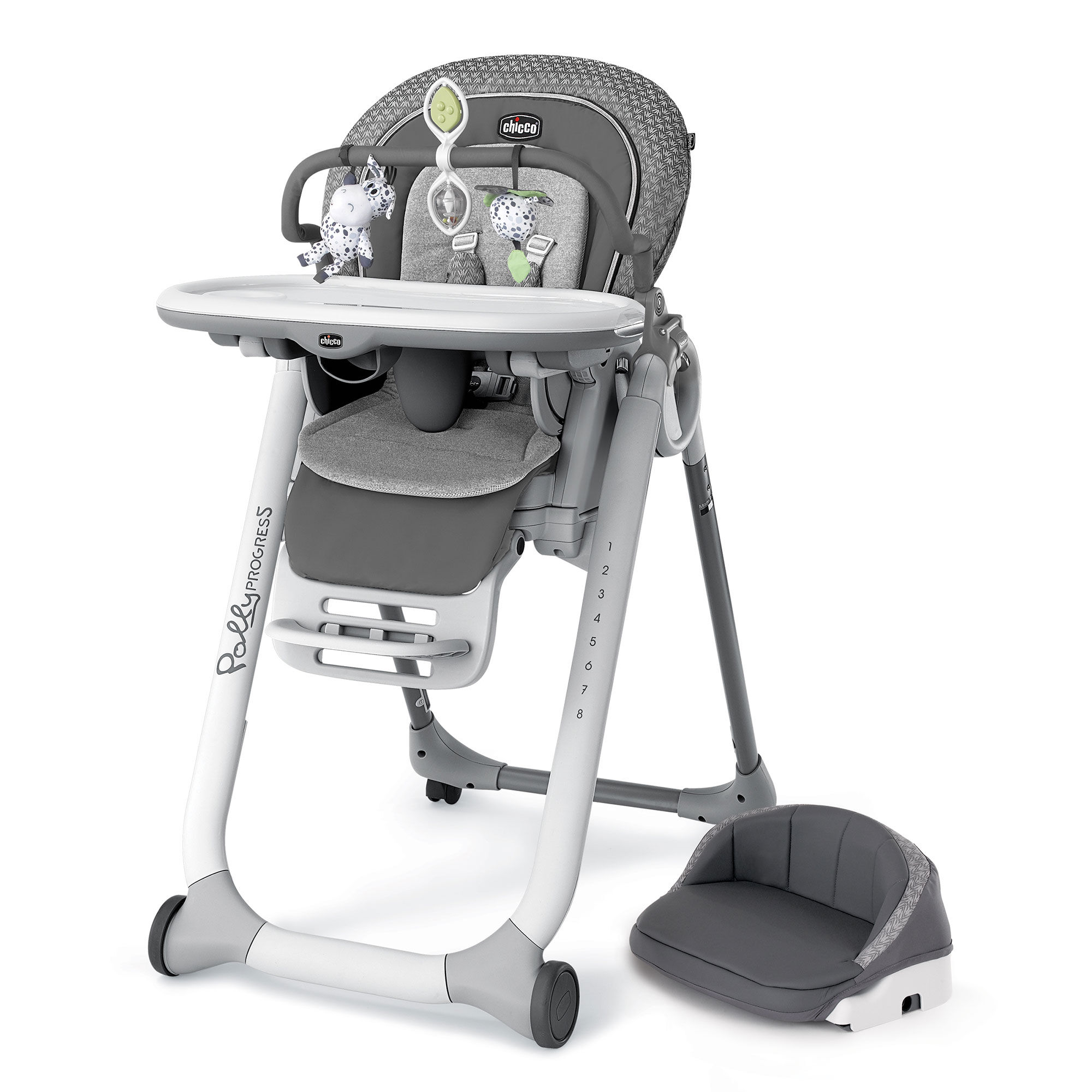 Chicco Polly Progress Relax Highchair in Silhouette