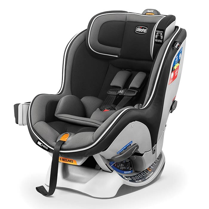 Chicco NextFit Zip Car Seat in Carbon