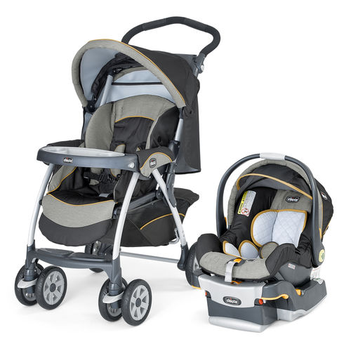 Cortina Travel System Stroller and Infant Car Seat - Sedona