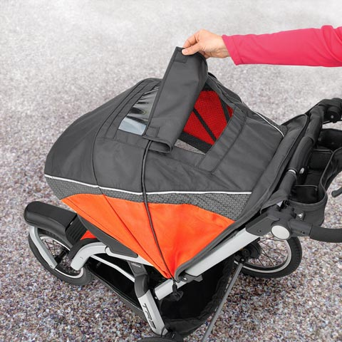 Chicco TRE Stroller Canopy Flap Radius ... & The Chicco TRE Jogging Stroller is ready for a run or stroll!