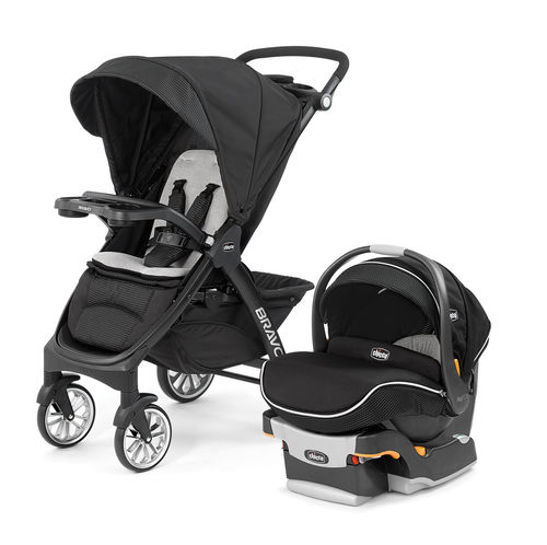 Bravo LE Trio System Stroller and Infant Car Seat - Genesis
