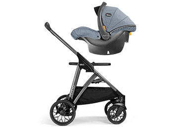 Corso Stroller accepts any Chicco Infant Car Seat