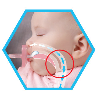 PhysioForma™ actively supports baby's breathing