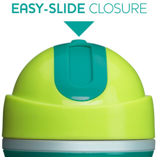 Easy-Slide Flip-Top Closure