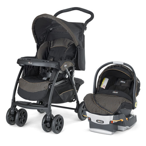 Cortina LE Travel System - Stroller and KeyFit 30 Infant Car Seat - Minerale