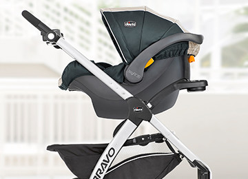 Accepts A Car Seat Easy Click In Attachment For The KeyFitR Or Fit2R