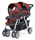 compare double strollers