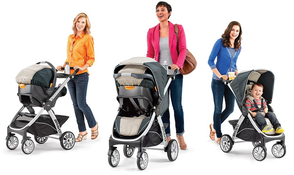 Chicco Bravo Trio Travel System Manual One Word Quickstart Guide