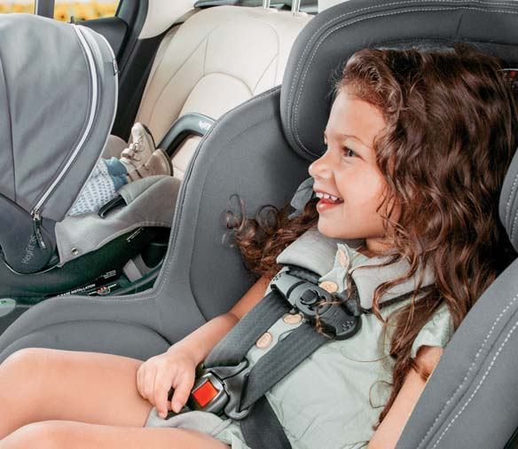 ClearTex Toddler in Car Seat