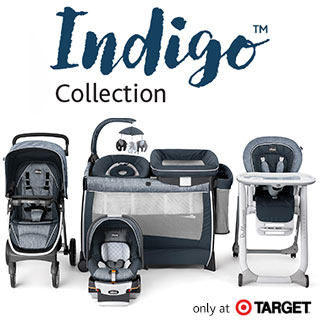 Indigo Fashion Baby Gear Collection from Chicco