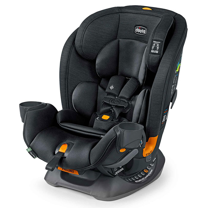 Chicco OneFit Car Seat in Obsidian